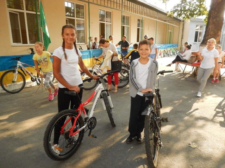 European Mobility Week in Ukrainian schools